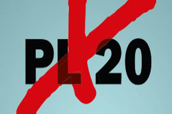 No to Bill 20